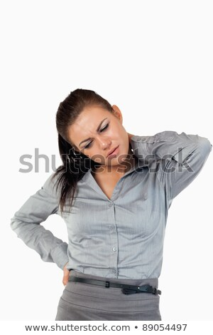 肖像 疲れ 女性実業家 白 ボディ ストックフォト © wavebreak_media
