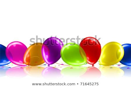 violet party background eps 10 stock photo © beholdereye