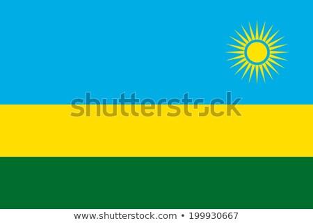 Flag of rwanda Stock photo © MikhailMishchenko