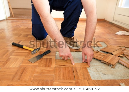 renovated wooden floor Stock photo © Sarkao