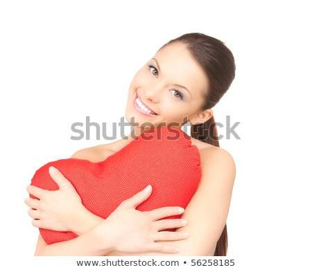 törött · nő · szív · kapcsolat · család · szeretet - stock fotó © dolgachov