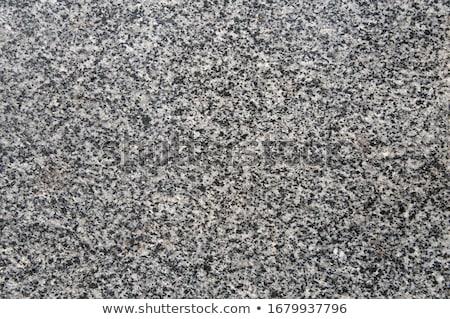 Granit yüzey küçük beyaz çakıl taşlar Stok fotoğraf © guillermo