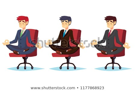 Businessman Timeout Set Stock photo © cteconsulting