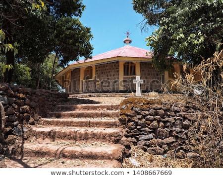 Starożytnych Biblii Etiopia kościoła Afryki religii Zdjęcia stock © travelphotography