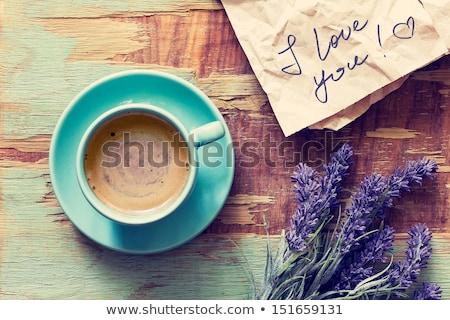 Szeretet jegyzetek vektor grafikus szett három Stock fotó © LittleLion