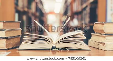школы книга Nice изображение бумаги фон Сток-фото © clearviewstock