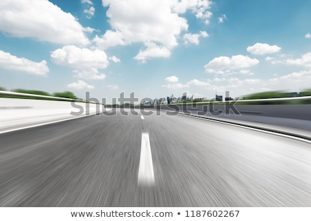 motion blur on road  Stock photo © ssuaphoto