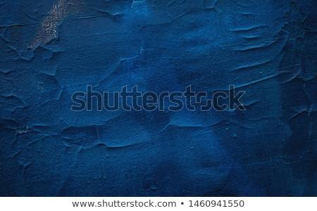 Stock fotó: Fém · festett · kék · ajtó · fal · absztrakt