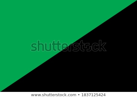 Foto stock: Green Anarchism Flag