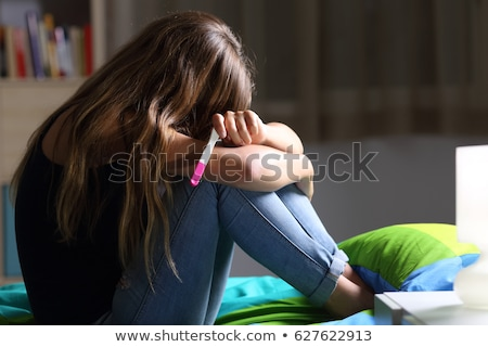 teenage pregnancy stock photo © lightsource