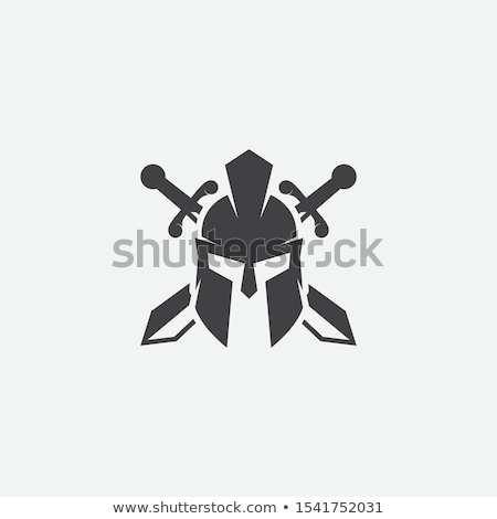 helmet and sword stock photo © cosma