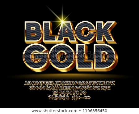 3D diamant lettre noir isolé Photo stock © 123dartist