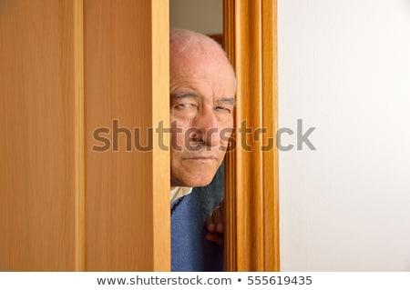 man eavesdropping Stock photo © ichiosea