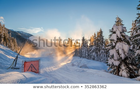 Snow maker stock photo © Obencem