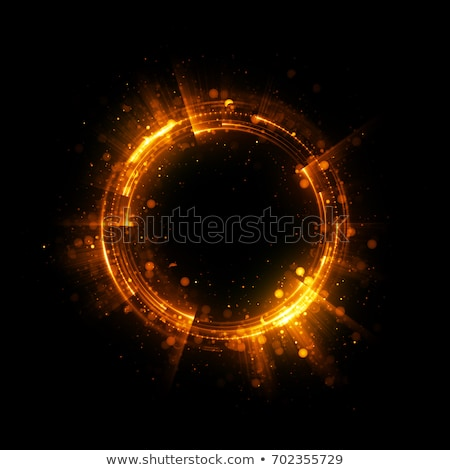 Colorful ring with sparks Stock photo © dvarg