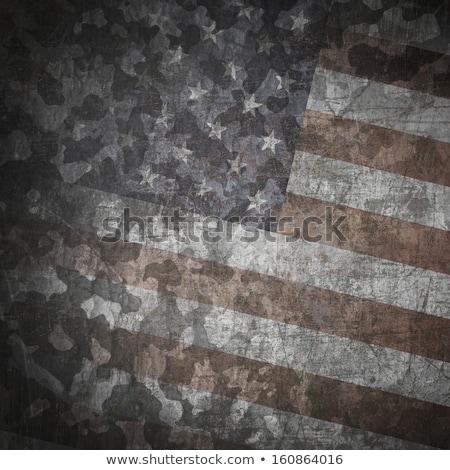 Militaire leger star grunge exemplaar ruimte textuur Stockfoto © stevanovicigor