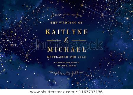 Star zwarte abstract textuur achtergrond Blauw Stockfoto © m_pavlov