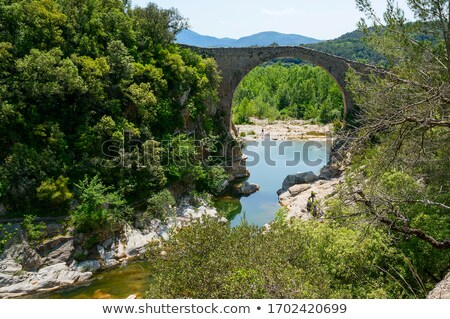 View over Pyrenees mountains Stock photo © Nejron