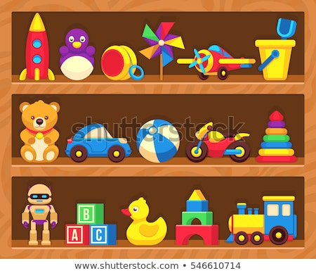 shelves and toys Stock photo © ssuaphoto