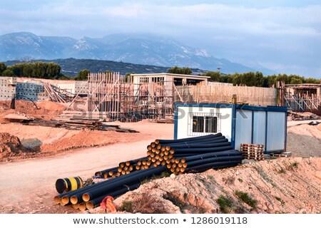 отель строительство Греция конкретные здании Закинф Сток-фото © Mps197