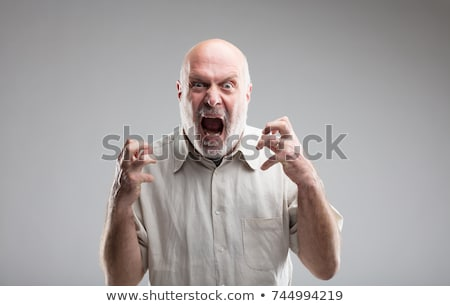 man mad at himself Stock photo © mizar_21984