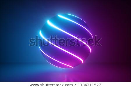 néon · fête · résumé · technologie · disco - photo stock © serebrov