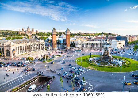 barcelona spain square stock photo © joyr