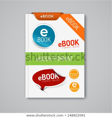 ebook markers - stickers, corners, labels Stock photo © orson