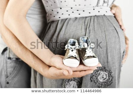 anne · bebek · kol · yetişkin · kadın · beyaz - stok fotoğraf © sfinks
