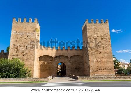 Majorca oude binnenstad eilanden Spanje gebouw rock Stockfoto © lunamarina