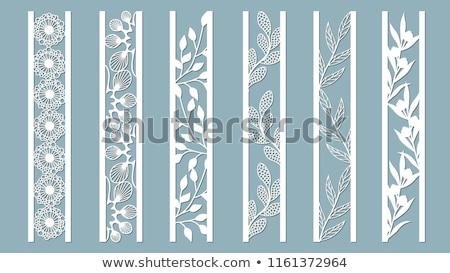 Stockfoto: E · Hibiscus · En · Kant · Van · De · Huwelijksuitnodiging