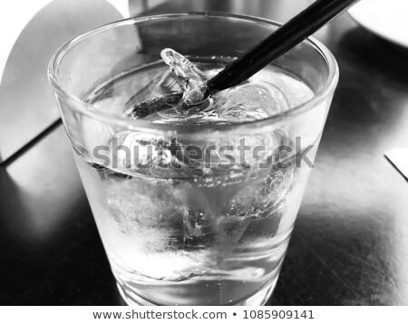 Fluido vetro isolato bianco acqua Foto d'archivio © AlisLuch