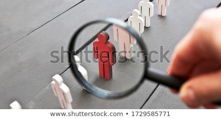Businessman select an image  Stock photo © alphaspirit