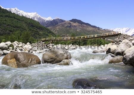 Montanha alcance Índia mostrar vale fotografia Foto stock © imagedb