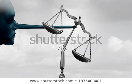 Lying Justice Concept Stock photo © Lightsource