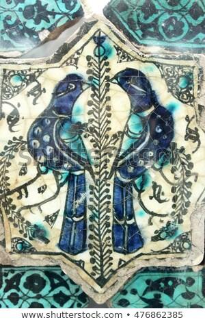 kolorowy · dekoracyjny · adamaszek · etnicznych · streszczenie - zdjęcia stock © huseyinbas