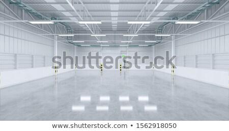 hoog · magazijn · dozen · klaar · gebouw · bouw - stockfoto © paha_l