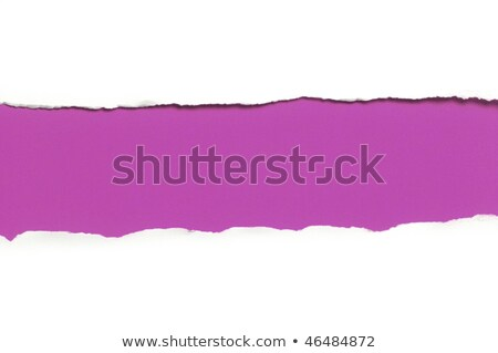 the sheet of torn paper against the white background Stock photo © Paha_L