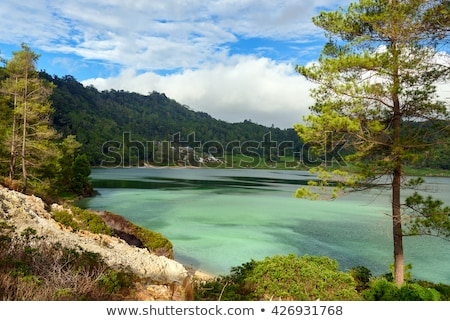 sulphurous lake - Danau Linow Stock photo © artush