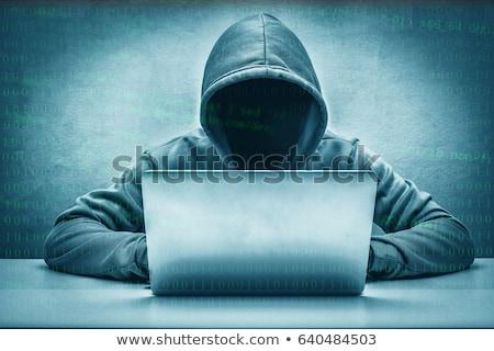 Robado identidad personal información ladrón Internet Foto stock © Lightsource