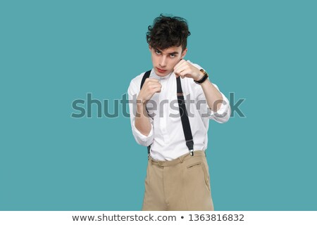 Bonito branco masculino punho Foto stock © wavebreak_media