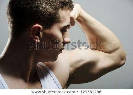 vücut · oluşturucu · kas · erkek · gövde · yalıtılmış - stok fotoğraf © zurijeta