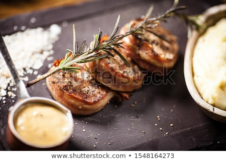Pork Tenderloin Medallions Stock photo © saddako2