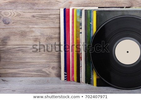 lot of records in sleeves  stock photo © olykaynen