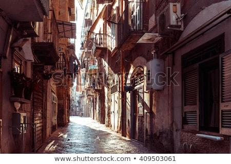 şehir · İtalya · panorama · bahar · manzara · seyahat - stok fotoğraf © ilolab