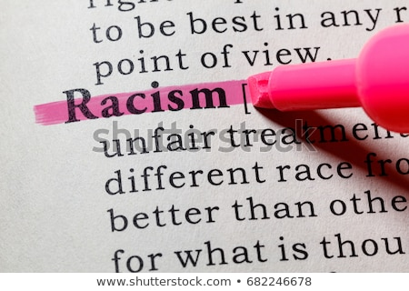 racism red marker concept stock photo © ivelin