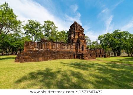 Prasat Mueang Sing Historical Park Stock photo © Yongkiet