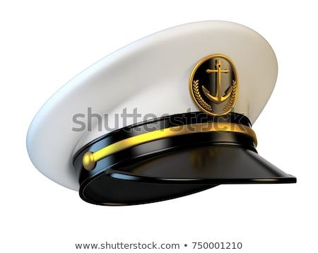 Ship Captain's Cap Stock photo © lenm