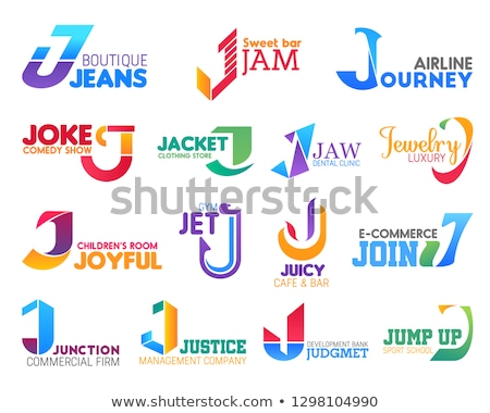 A letter J for jet Stock photo © bluering