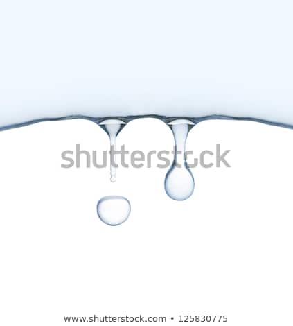 Buz gibi su damlası doğa makro fotoğraf su Stok fotoğraf © Juhku